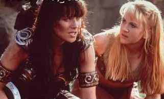 Gabrielle and Xena