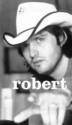 Robert Rodriguez--as many directors do, he likes to keep his head covered!